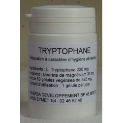 Tryptophane 220 mg x 60 gélules