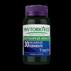 BIOTIKAPLUS ADULTE - FERMENTS LACTIQUES - 30 Mds 9 souches