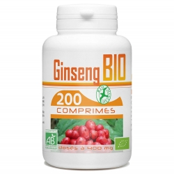 Ginseng Bio - 200 comprimés x 400 mg