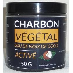 Charbon Végétal Activé issu de noix de coco - poudre 150 g