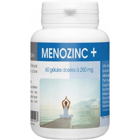 MENOZINC + - 250 mg x 60 gélules