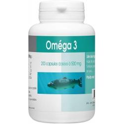 OMEGA 3 - 500 mg x 200 capsules