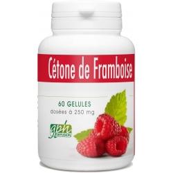 Cétone de Framboise - 250 mg x 60 gélules