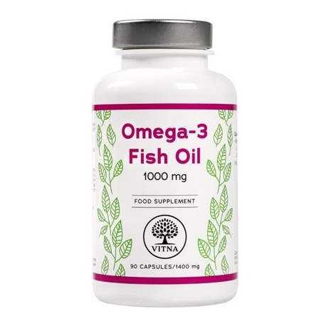 Omega-3 Fish Oil - 1000 mg x 90 capsules