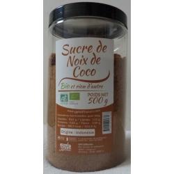 Sucre de Noix de Coco Bio - Pot 500 g