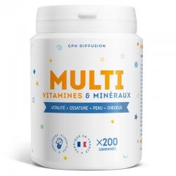 MultiVitamines & Minéraux - 200 comprimés