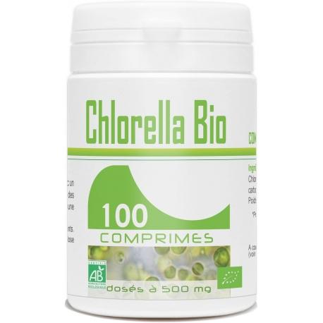 Chlorella BIO - 500 mg x 100 comprimés