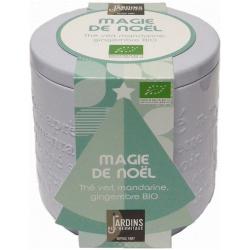 "Thé BIO ""Magie de Noël"" - boîte métal 100 g"