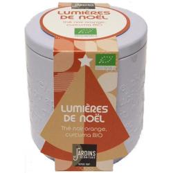 "Thé BIO ""Lumières de Noël"" - boîte métal 100 g"