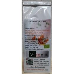 Thé noir Chai Bio - 80 g