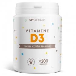 Vitamine D3 5 µgr - 200 comprimés