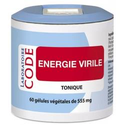Energie Virile - 60 gélules végétales de 555 mg