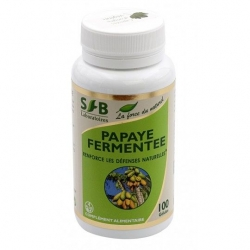 Papaye fermentée 100 cps x 735 mg