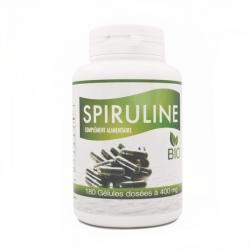 Spiruline Bio 400mg x 180 gélules