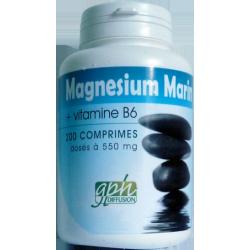 Magnésium marin 200 gél x 550 mg