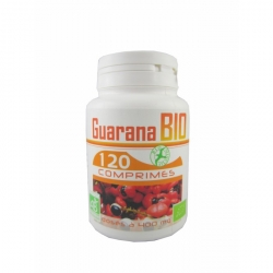 Guarana Bio - 120 gél. x 400 mg