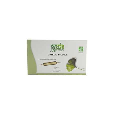 Ginkgo Biloba 20 ampoules