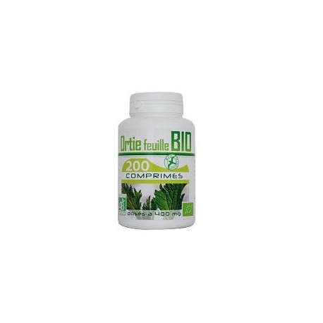 Ortie feuille Bio - 200 comp x 400 mg
