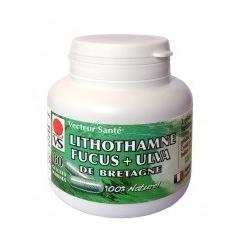 Lithothamne & Fucus + Ulva - 80 gélules