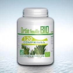Ortie feuille Bio - 120 comprimés x 400 mg