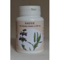 Sauge 250 mg x 100 gélules