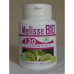 Mélisse Bio - 400 mg x 120 comprimés