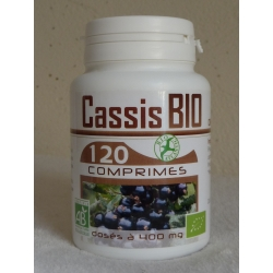 Cassis Bio 400 mg x 120 comprimés