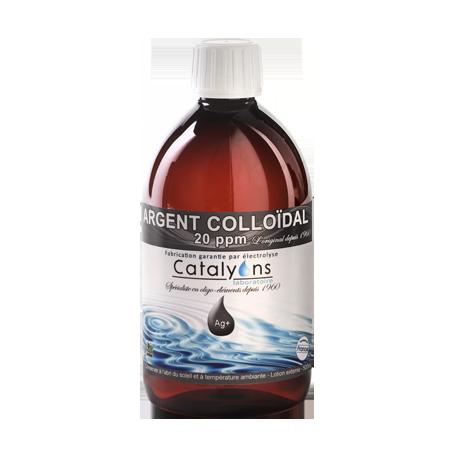 ARGENT COLLOÏDAL 20 ppm 500 ml