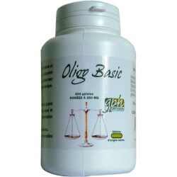 Oligo Basic 250 mg x 200 gélules
