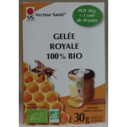 Gelée Royale 100% Bio - Pot 30 g