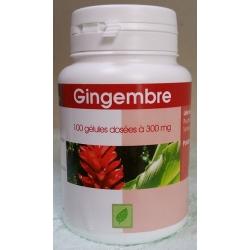 Gingembre 300 mg x 100 gélules