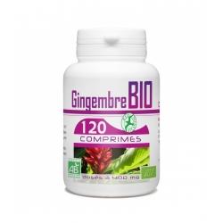 Gingembre Bio 400 mg x 120 comprimés
