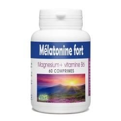 Mélatonine Fort - Magnésium + Vitamine B6 - 60 comprimés