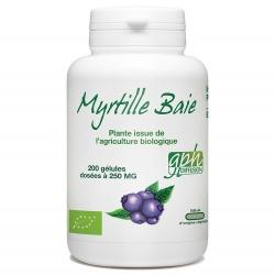 Myrtille Baie - 250 mg x 200 gélules
