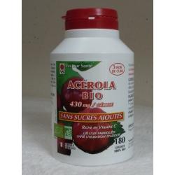 Acérola Bio - 180 gél x 550 mg