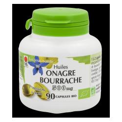 Onagre Bourrache 500 mg x 90 capsules Huiles Bio