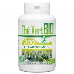 Thé vert Bio 400 mg x 200 comprimés