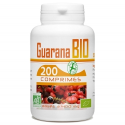 Guarana Bio - 200 cps x 400 mg
