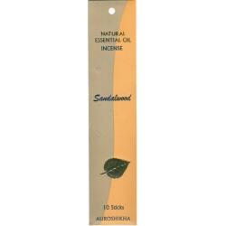 Encens Indien aux huiles essentielles précieuses - 10 bâtonnets