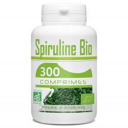 Spiruline Bio 400 mg x 300 comprimés